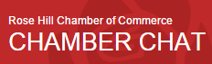 Rose Hill Chamber of Commerce Chamber Chat Logo