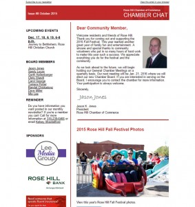Chamber Chat Newsletter Issue #8