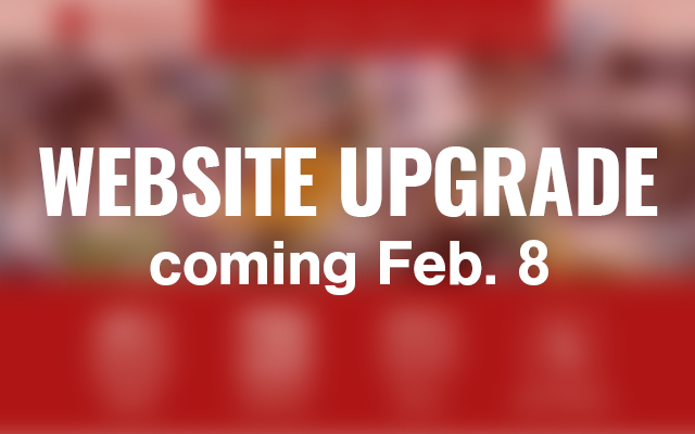 Website Upgrade COMING SOON