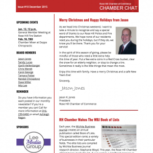 Rose Hill Chamber Chat Issue #10