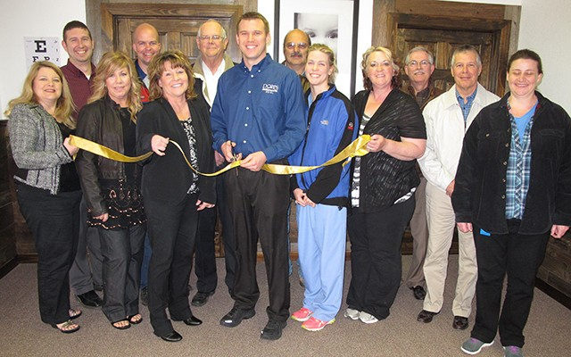 Dopps Chiropractic Ribbon Cutting
