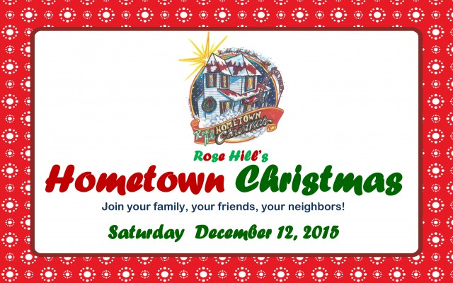 2012 HOMETOWN CHRISTMAS AGENDA