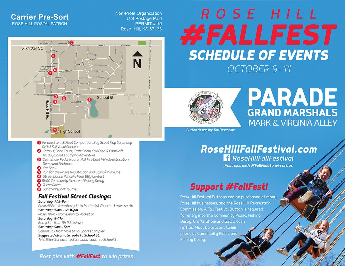 #FallFest 2015 Mailer