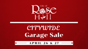 Citywide Garage Sale 2019 @ Rose Hill