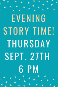 Evening Story Time @ Rose Hill Public Library   Rose Hill   Kansas