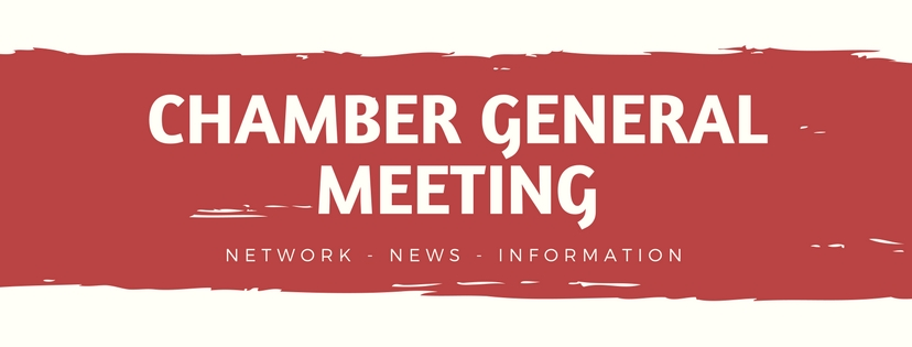 General Chamber Meeting @ Rose Room | Rose Hill | Kansas | United States