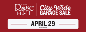 City Wide Garage Sale 2017 @ Rose Hill | Kansas | United States