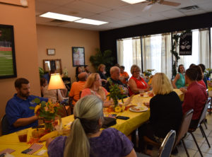 Local Chamber Members enjoyed dining at Coffee With Friends at their Chamber Mixer.