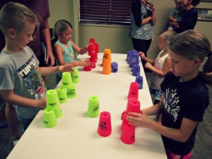 Cup Stacking with Mrs. DeMoss @ Rose Hill Public Library | Rose Hill | Kansas