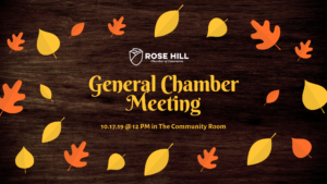 General Chamber Meeting @ Community Room