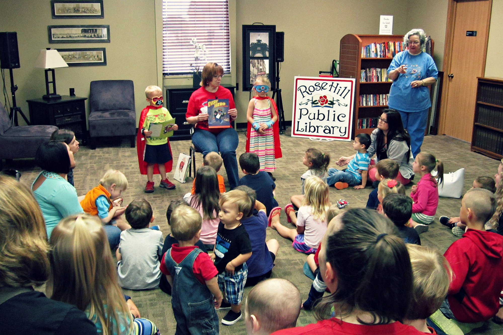 Story time youth readings rose hill public library read check out books games movies dvds best fiction novels libraries librarians rh ks kansas