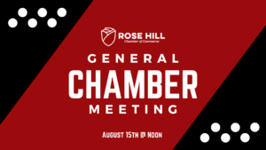 General Chamber Meeting @ Rose Room
