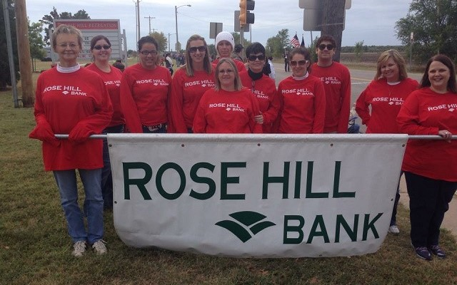 rose hill bank employees rhb ks kansas