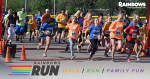 Rainbows Run @ Lincoln Elementary School | Augusta | Kansas