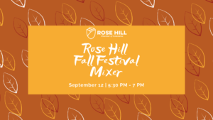 Fall Festival Chamber Mixer @ Rose Hill Recreation Commission
