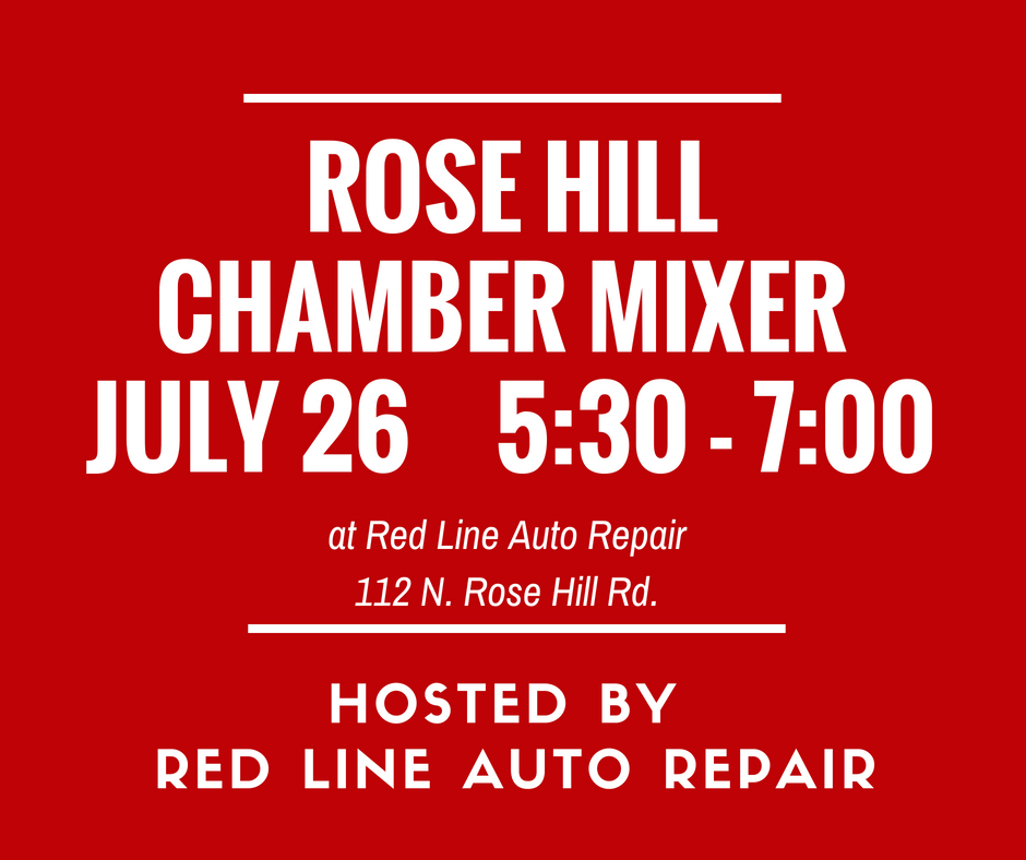 Chamber Mixer @ Red Line Auto Repair | Rose Hill | Kansas | United States