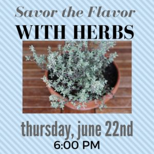 Savor the Flavor @ Rose Hill Public Library | Rose Hill | Kansas