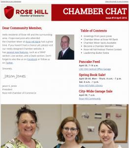 Chamber Chat Newsletter #14 - April, 2016