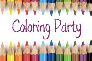 Coloring Party! @ Rose Hill Public Library | Rose Hill | Kansas