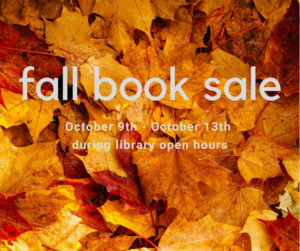 Fall Book & Bake Sale @ Rose Hill Public Library | Rose Hill | Kansas
