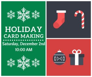 Holiday Card Making @ Rose Hill Public Library | Rose Hill | Kansas