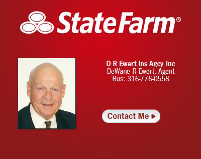 state farm insurance agency auto home life dewane ewert rose hill kansas ks