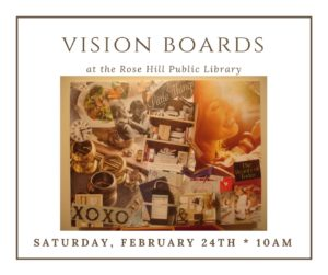 Vision Board Craft @ Rose Hill Public Library | Rose Hill | Kansas